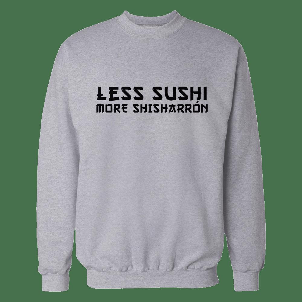 Less sushi gris sin
